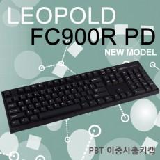 레오폴드 FC900R PD 블랙 영문 레드(적축) 이중사출