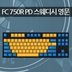 레오폴드 FC750R PD 스웨디시 영문 레드(적축)