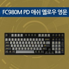 FC980M PD 애쉬 옐로우 영문 저소음적축