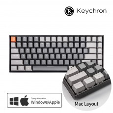 Keychron K2 RGB 다크그레이 블루투스(84키) 한글