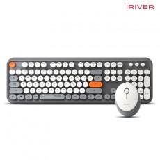 아이리버 EQwear-Q150 키보드 무선 마우스 세트(그레이)