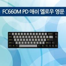 FC660M PD 애쉬 옐로우 영문 넌클릭(갈축)